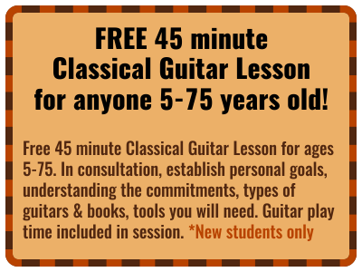 Free Classical Guitar Lesson